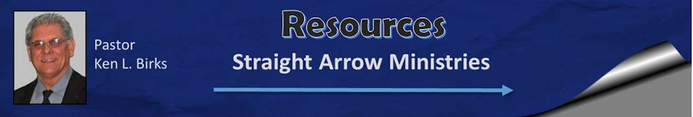 Resources from Straight Arrow Ministries